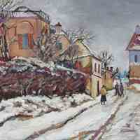 Remake. Vouazen. Winter (Pissarro)